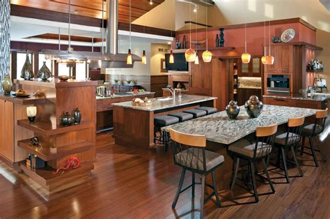 open house plans with large kitchens open kitchen designs