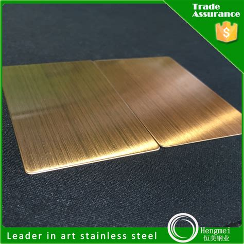 colored stainless steel circular brushed stainless steel sheet colored metal