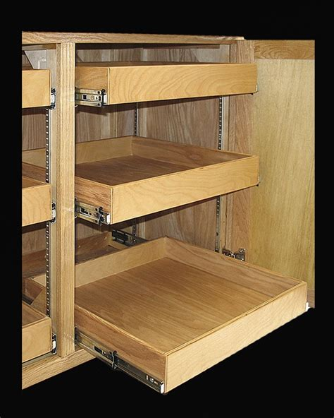 cabinet roll out shelves 40 best images about cabinet storage on trash bins spice drawer and kitchen pulls