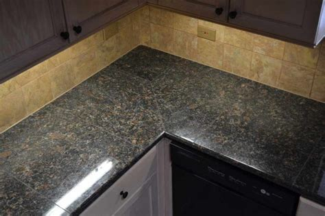lazy granite tile for kitchen countertops lazy granite brown countertop traditional kitchen