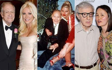 maduras desesperadas 15 famosos ancianos y sus j 243 venes esposas paperblog