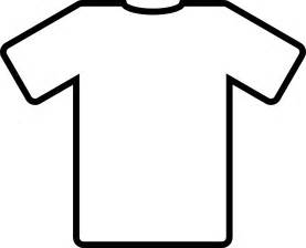 free coloring pages of blank tee shirt