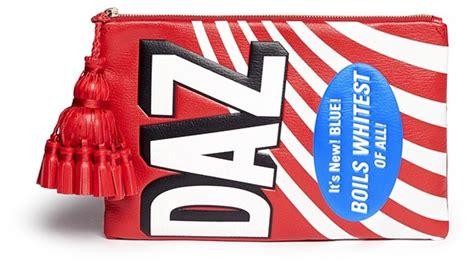 Other Designers Anya Hindmarch Neeson Handbag Alba by Anya Hindmarch Georgiana Daz Embossed Leather Tassel Zip