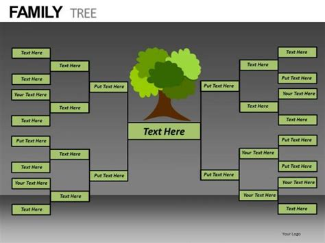 best photos of family tree chart template powerpoint