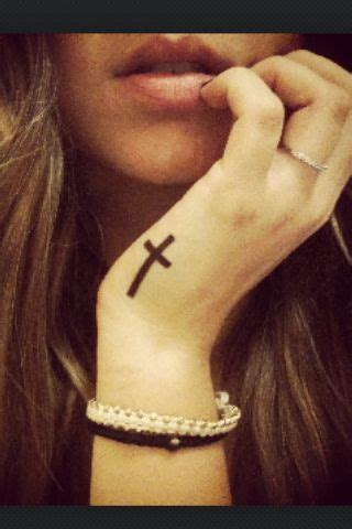 tattoo cross on hand meaning hand cross tattoo www pixshark com images galleries