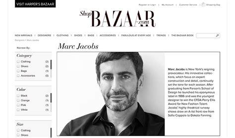 Marc Bazaar by Phillips Web Design Portfolio