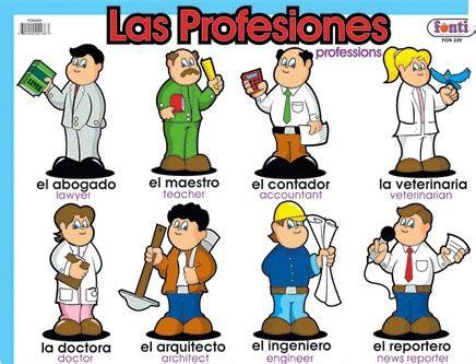 imagenes en ingles de oficios profesiones