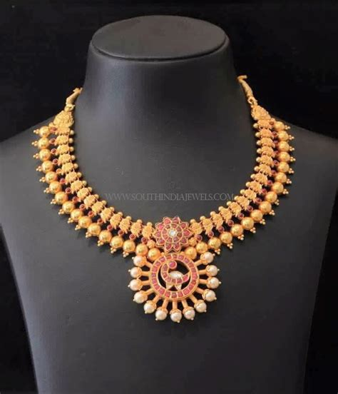 south indian antique gold jewellery design south india