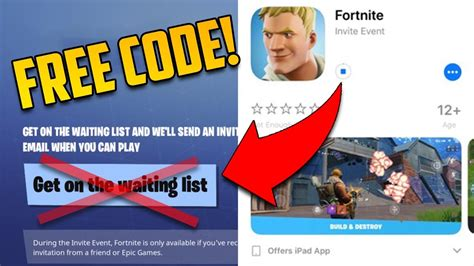 fortnite login free fortnite mobile invite code how to