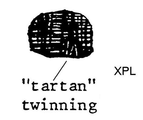 tartan twinning virtual geology info
