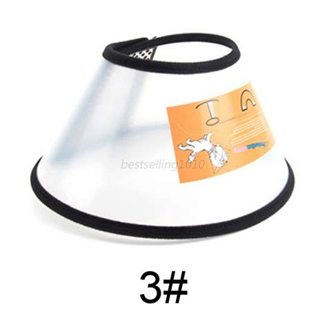 cat comfy cone collar pet bathing after surgery anti bite protector cover us ebay