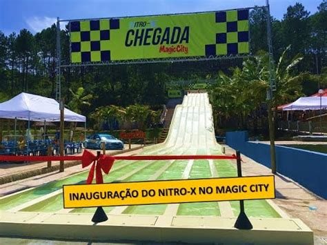 the magical city magical 1405924098 gordiando no lan 231 amento nitro x no parque aqu 225 tico magic city youtube