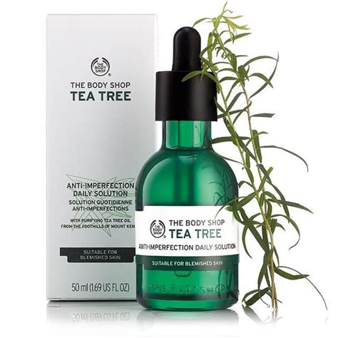 Tea Tree Gel The Shop tea tree anti imperfection daily solution 1 69 fl oz