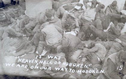 hell heaven or hoboken by an american soldier in the gas regiment books hoboken in wwi hoboken historical museum