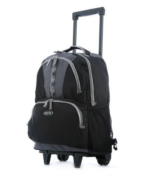 Backpack Like Suitcase 18 Inches by Olympia 18 Inch Rolling Carry On Wheeled Travel Backpack