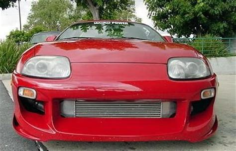 Toyota End Of Year Sale Toyota Supra 93 94 95 96 97 98 Bomex 101 Front Bumper Quot End