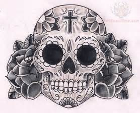 mexican sugar skull tattoos design
