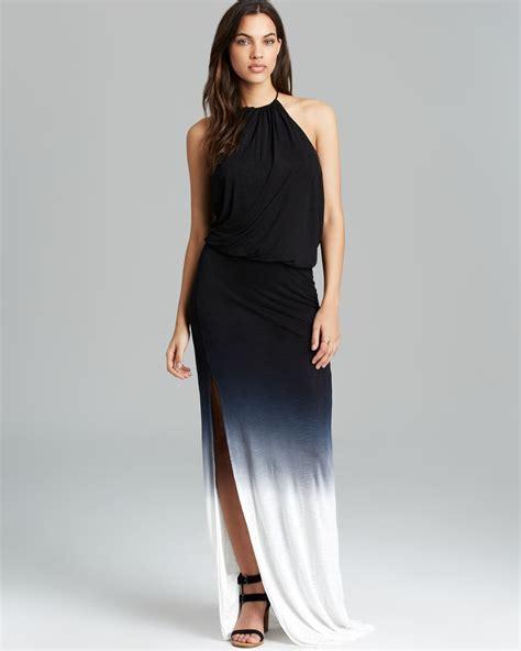 Dress Ombre lyst fabulous kassandra ombre maxi dress in black