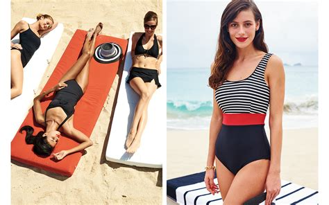 lands end swimsuit models 2015 how to protect your skin in sun safe style landsend
