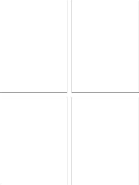 download classic comic strip templates blank comic 4