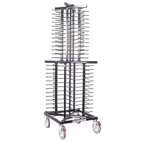 Stacked Plate Rack jackstack plate rack for 72 plates m t international