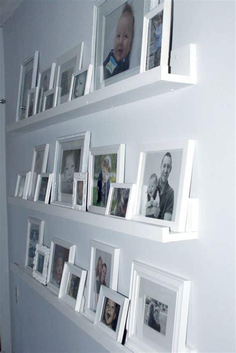 framed   shelves   hanging  nails