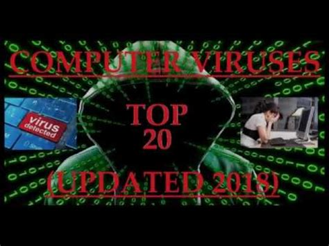 7 Deadliest Computer Viruses by Top 20 Deadly Computer Virus Updated 2018 Types Of