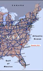 road map us eastern seaboard maps of usa