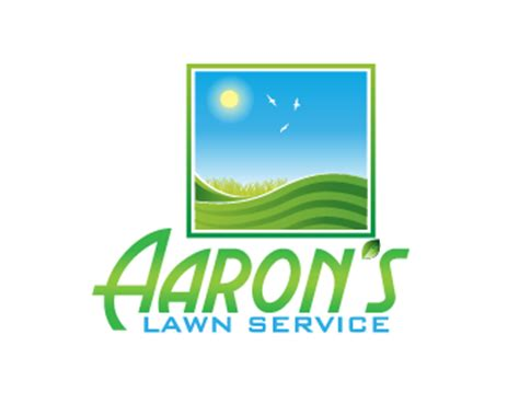 aaron s lawn service logo wettbewerb logos by royalunicorn