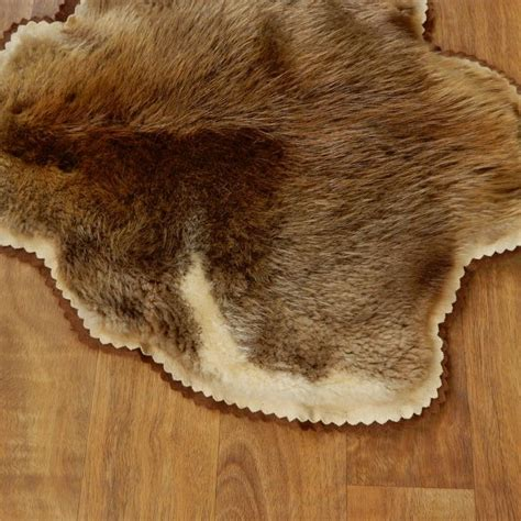 skin rug for sale beaver hide taxidermy rug for sale 17874 the taxidermy store