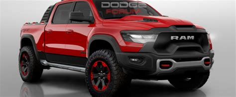 ram  rebel trx rendered   hellcat  trucks