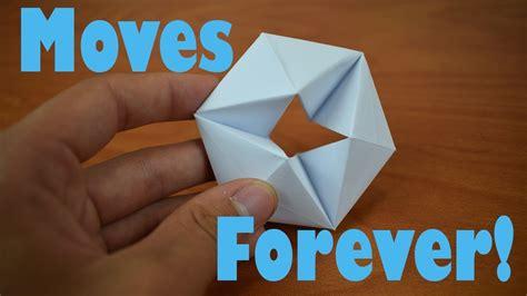 fold  origami moving flexagon