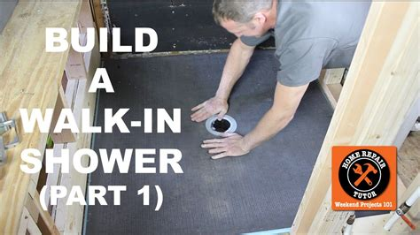 How to Build a Walk In Shower (Part 1: Wedi Shower Pan