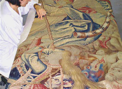 Restauration Tapisserie by Restauration Conservation De Tapisseries Anciennes Et