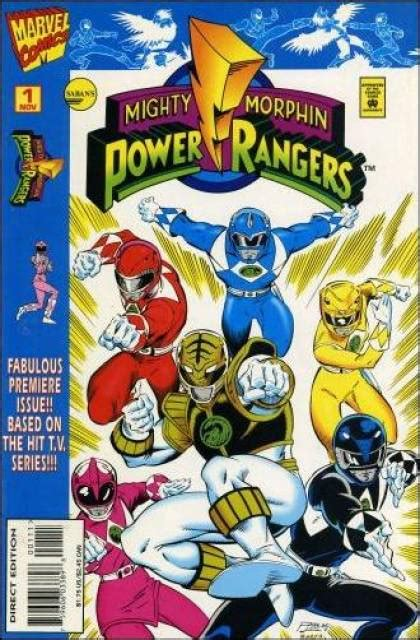 defenders of the white and blue books mighty morphin power rangers volume comic vine