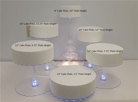 cupcake stand with led lights multi tier wedding cake stand with led lights 6 tier