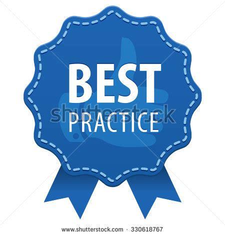 icon design best practices best practice blue label seam ribbons stock vector
