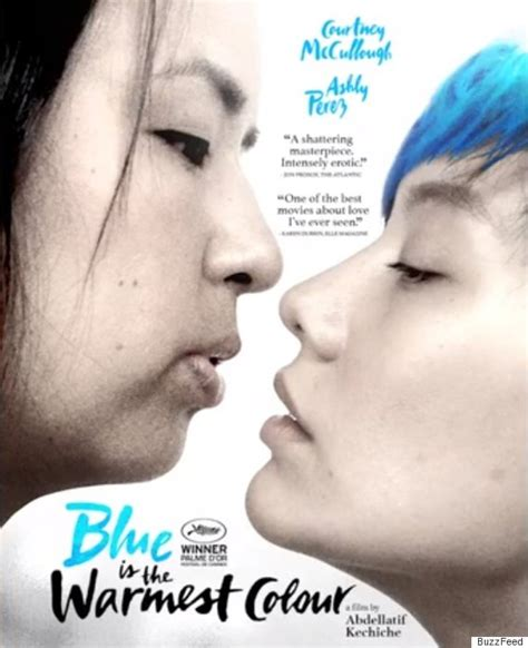 blue is the warmest color cast posters recast with of colour