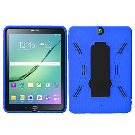 Casing Tablet Samsung hybrid silicone combo box stand cover for samsung galaxy tab s2 9 7 quot tablet ebay