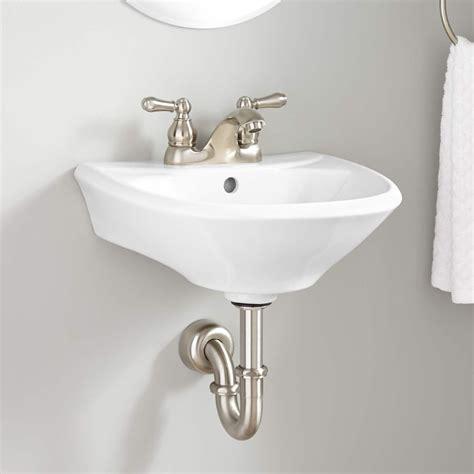 Restroom Sinks by Farnham Mini Porcelain Wall Mount Bathroom Sink Bathroom