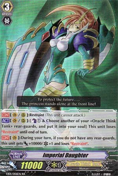 Vanguard Cardfight Oracle Think Thank Deck Eng cardfight vanguard clan of the day oracle think tank