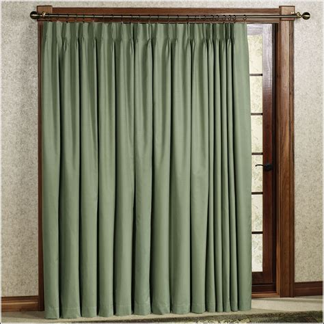 thermal blackout patio door curtains curtains home