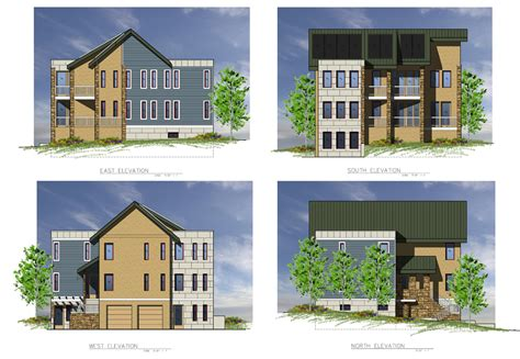 architectural  elevations  graphics