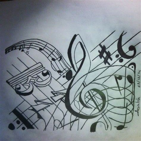 imagenes a lapiz musica pinterest the world s catalog of ideas