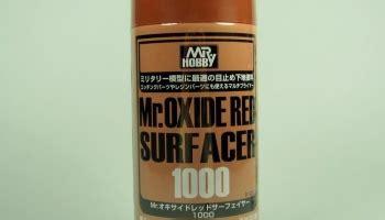 B525 Mr Oxide Surfacer 1000 surfacery car model kit cz