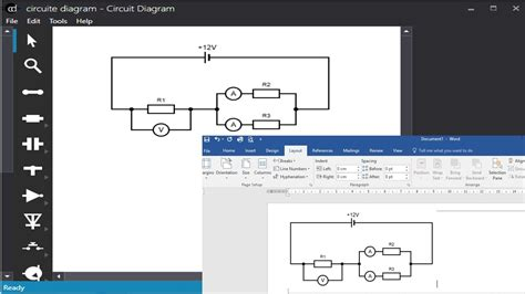 how to draw schematic diagrams in word draw circuit diagram in word somurich