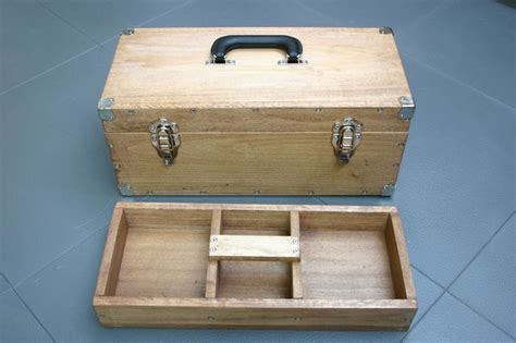 How To Make A Tool Box Out Of Paper - functional and sturdy wooden toolbox