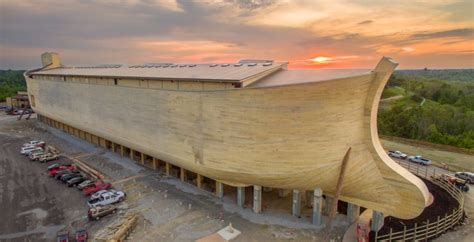 house designs construction plans the ark life size noah s ark uses 3 1 million board feet of timber