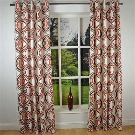 pattern energy babcock brown brown and white geometric curtains home design ideas