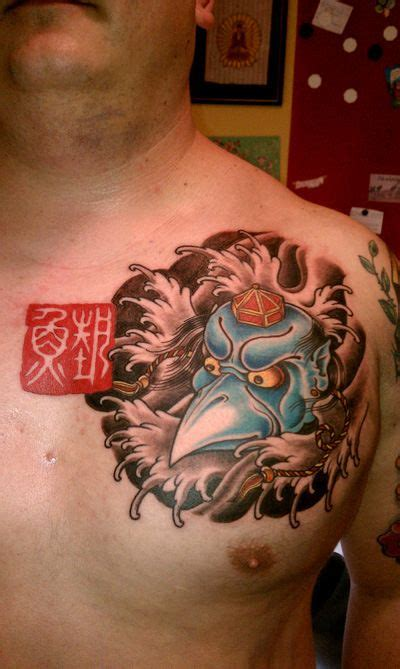 tengu tattoo 25 best ideas about tengu on oni